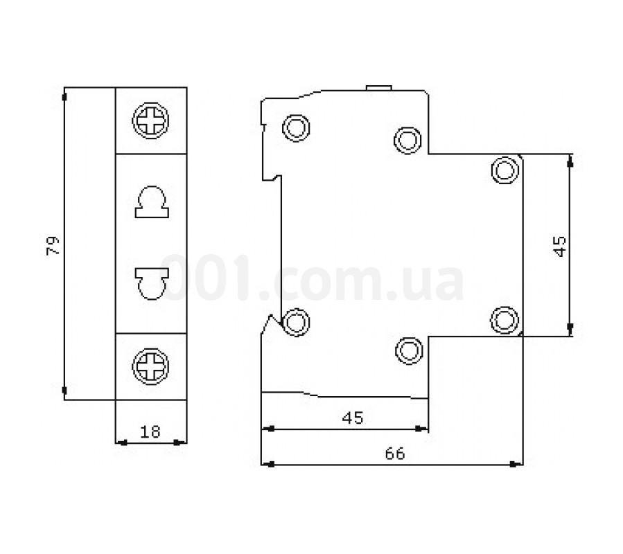 Розетка на DIN-рейку ECO SC 2P АСКО-УКРЕМ (ECO080010001) купить в ... 2694cfd9ec8