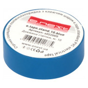 Изолента 0,13×19 мм синяя (10 м) e.tape.stand.10.blue, E.NEXT мини-фото