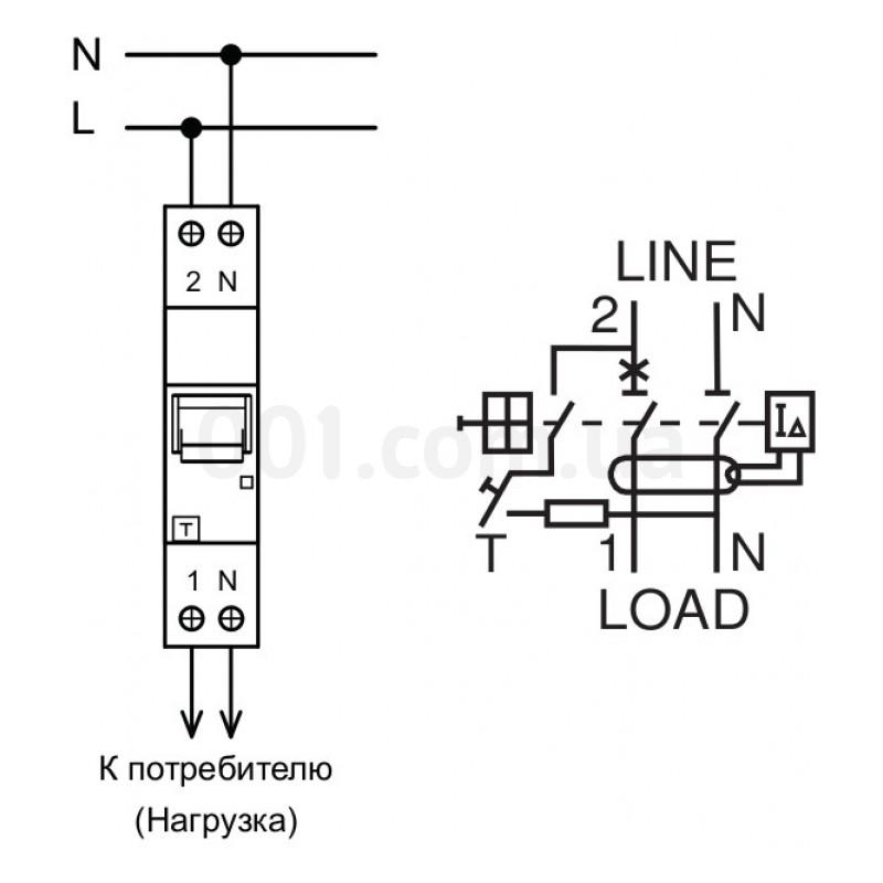 Автоматические выключатели схема подключения фото 406