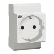 Розетка РАр10-3-ОП с заземляющим контактом на DIN-рейку (SHUKO), IEK 7d527d7e680